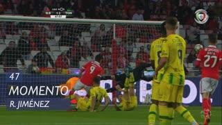 SL Benfica, Jogada, R. Jiménez aos 47'