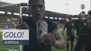 GOLO! Vitória SC, Hurtado aos 15', Marítimo M. 1-1 Vitória SC