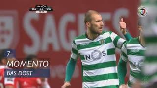 Sporting CP, Jogada, Bas Dost aos 7'