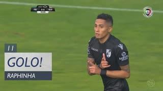 GOLO! Vitória SC, Raphinha aos 11', CD Feirense 0-1 Vitória SC