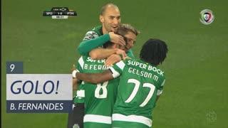 GOLO! Sporting CP, Bruno Fernandes aos 9', Sporting CP 1-0 Portimonense