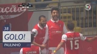 GOLO! SC Braga, Paulinho aos 38', SC Braga 3-0 CD Feirense