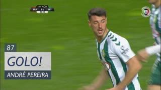 GOLO! Vitória FC, André Pereira aos 87', SC Braga 3-1 Vitória FC