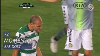 Sporting CP, Jogada, Bas Dost aos 72'
