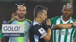GOLO! Vitória FC, João Amaral aos 83', Rio Ave FC 1-1 Vitória FC