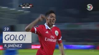 GOLO! SL Benfica, R. Jiménez aos 59', CD Feirense 0-1 SL Benfica
