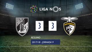 Liga NOS (9ªJ): Resumo Vitória SC 3-3 Portimonense