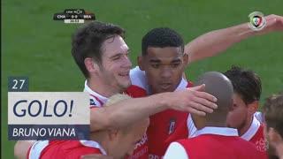GOLO! SC Braga, Bruno Viana aos 27', GD Chaves 0-1 SC Braga