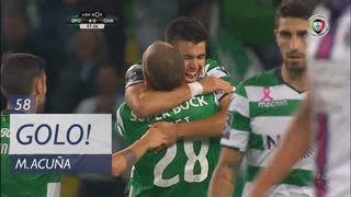 GOLO! Sporting CP, M. Acuña aos 58', Sporting CP 4-0 GD Chaves