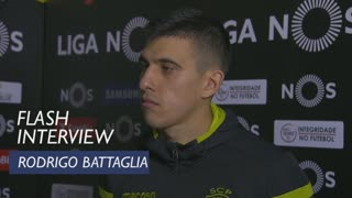 Liga (24ª): Flash interview Rodrigo Battaglia