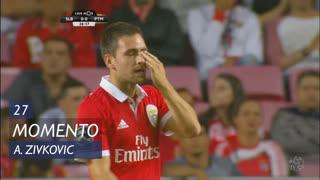 SL Benfica, Jogada, A. Zivkovic aos 27'