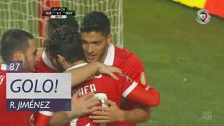 GOLO! SL Benfica, R. Jiménez aos 87', SL Benfica 5-1 Rio Ave FC