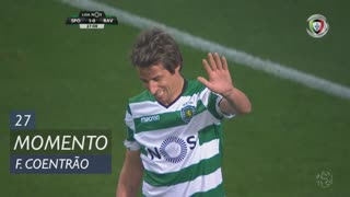 Sporting CP, Jogada, Fábio Coentrão aos 27'