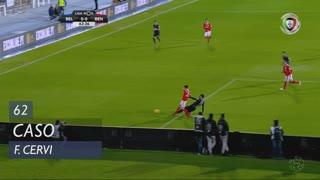 SL Benfica, Caso, F. Cervi aos 62'