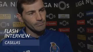 Liga (28ª): Flash interview Casillas