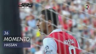 SC Braga, Jogada, Hassan aos 36'