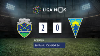 Liga NOS (24ªJ): Resumo GD Chaves 2-0 Estoril Praia