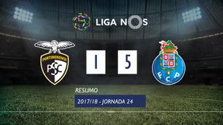 Liga NOS (24ªJ): Resumo Portimonense 1-5 FC Porto