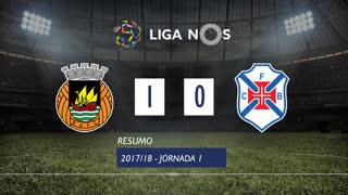 Liga NOS (1ªJ): Resumo Rio Ave FC 1-0 Belenenses