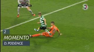 Sporting CP, Jogada, Daniel Podence aos 2'