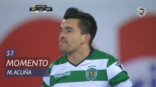 Sporting CP, Jogada, M. Acuña aos 57'