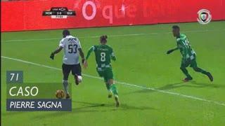Moreirense FC, Caso, Pierre Sagna aos 71'