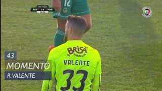 Marítimo M., Jogada, Ricardo Valente aos 43'