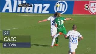 Moreirense FC, Caso, R. Peña aos 57'