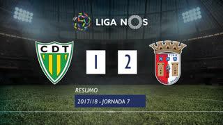 Liga NOS (7ªJ): Resumo CD Tondela 1-2 SC Braga