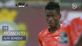 Moreirense FC, Jogada, Alfa Semedo Esteves aos 18'