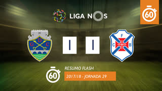 Liga NOS (29ªJ): Resumo Flash GD Chaves 1-1 Os Belenenses