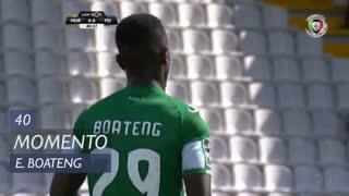 Moreirense FC, Jogada, E. Boateng aos 40'