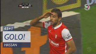 GOLO! SC Braga, Hassan aos 45'+1', SC Braga 2-1 Vitória SC