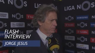 Liga (23ª): Flash interview Jorge Jesus