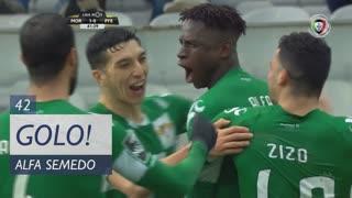 GOLO! Moreirense FC, Alfa Semedo Esteves aos 42', Moreirense FC 1-0 FC P.Ferreira