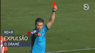 Moreirense FC, Expulsão, Ousmane Dramé aos 90'+9'