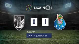 Liga NOS (34ªJ): Resumo Vitória SC 0-1 FC Porto