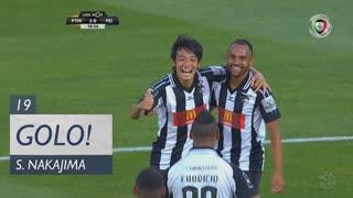 GOLO! Portimonense, S. Nakajima aos 19', Portimonense 2-0 CD Feirense