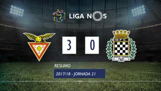 Liga NOS (21ªJ): Resumo CD Aves 3-0 Boavista FC