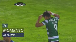 Sporting CP, Jogada, M. Acuña aos 76'
