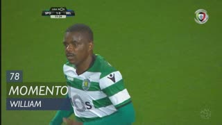 Sporting CP, Jogada, William aos 78'