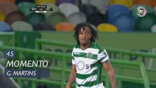 Sporting CP, Jogada, Gelson Martins aos 45'