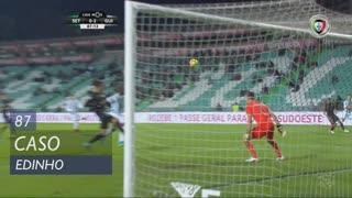 Vitória FC, Caso, Edinho aos 87'