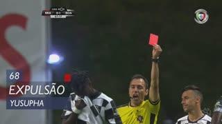 Boavista FC, Expulsão, Yusupha aos 68'