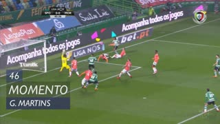 Sporting CP, Jogada, Gelson Martins aos 46'
