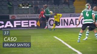FC P.Ferreira, Caso, Bruno Santos aos 37'