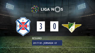 Liga NOS (10ªJ): Resumo Os Belenenses 3-0 Moreirense FC