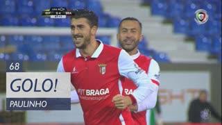 GOLO! SC Braga, Paulinho aos 68', Estoril Praia 0-4 SC Braga