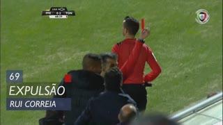 FC P.Ferreira, Expulsão, Rui Correia aos 69'