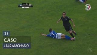 CD Feirense, Caso, Luís Machado aos 31'